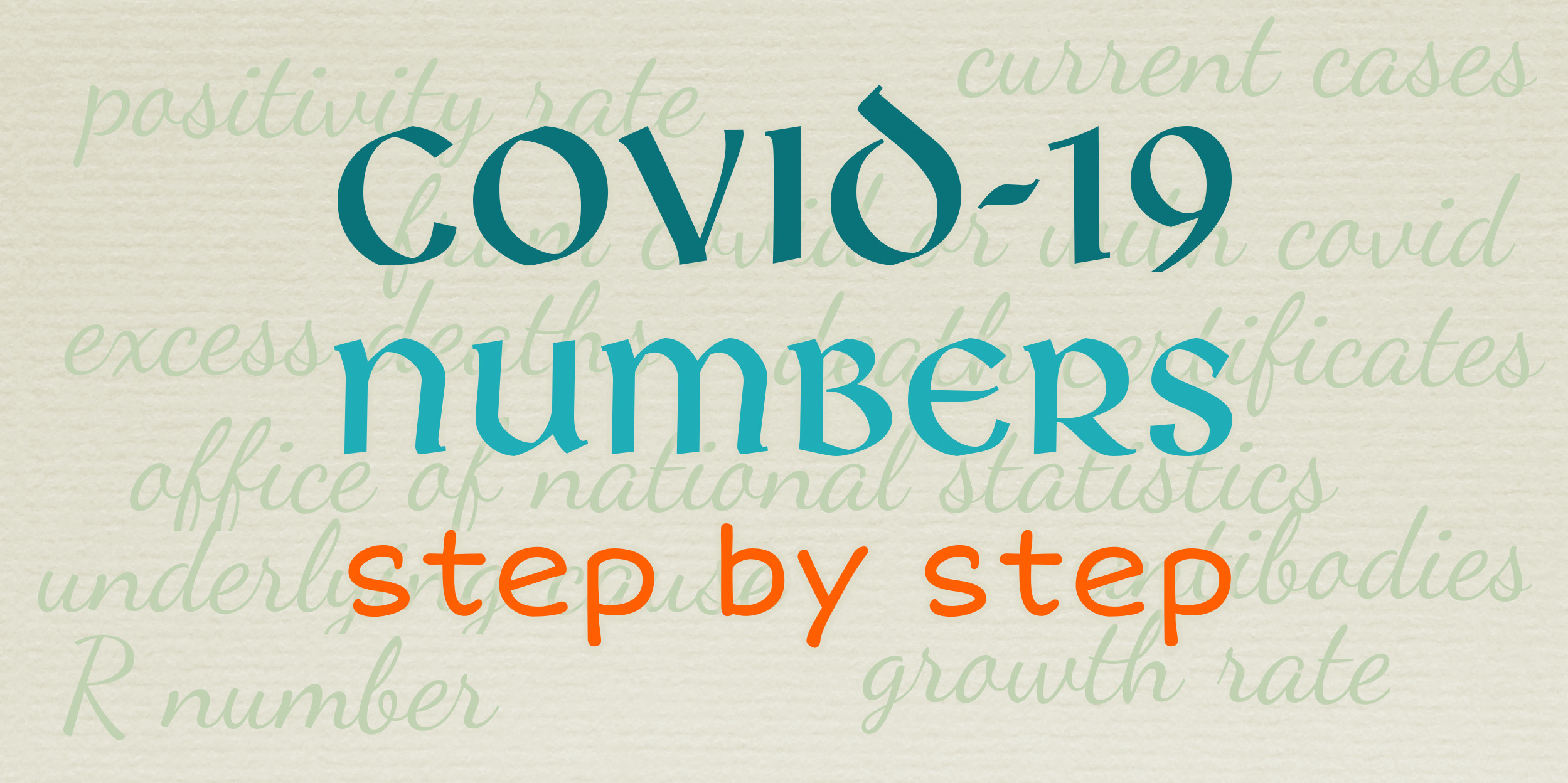 Covid-19 Numbers Step By Step